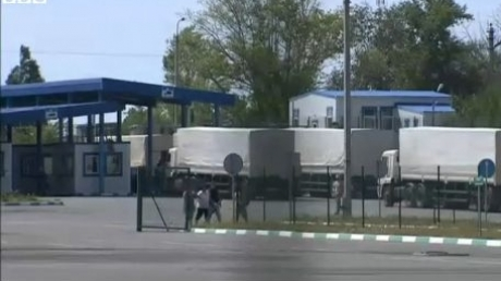 Moscova a anunțat revenirea în Rusia a convoiului care a avut ca destinație Lugansk. OSCE confirmă