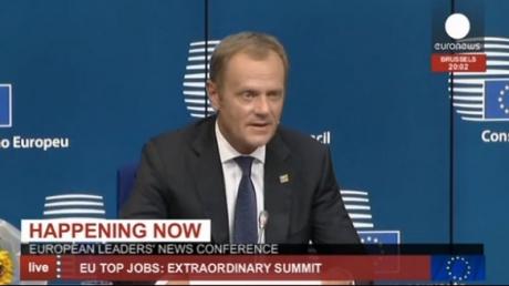 Donald Tusk, desemnat președinte al Consiliului European. Federica Mogherini, șefa diplomației