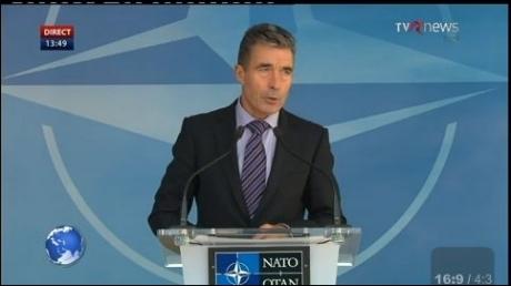 Anders Fogh Rasmussen: Cerem Rusiei să oprească susţinerea rebelilor, vom colabora cu Ucraina