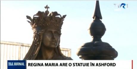 o-statuie-a-reginei-maria-a-fost-amplasata-