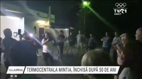 Hunedoara: Termocentrala de la Mintia a fost închisă definitiv