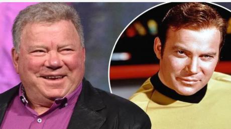 """Căpitanul Kirk din """"Star Trek"""", pregătit de lansarea în spaţiu la bordul capsulei companiei Blue Origin. Actorul are 90 de ani"""