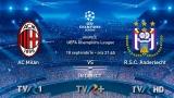 Milan vs Anderlecht