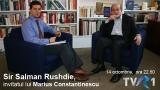 Salman Rushidie si Marius Constantinescu