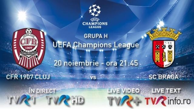 CFR Cluj vs Braga