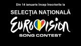Inscrieri Selectia Nationala Eurovision