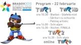 FOTE program 22 februarie