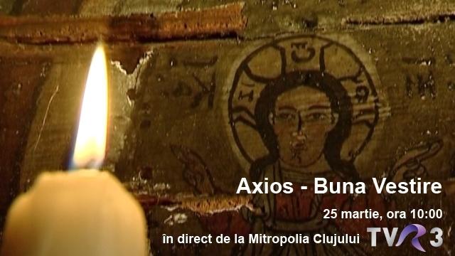 Luni, 25 martie, de la ora 10.00, la Axios , în direct de la ...