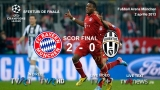 Bayern vs Juventus, scor final
