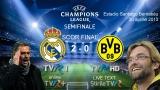 Real Madrid vs Borussia Dortmund, 2-0