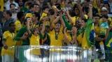 Brazilia a cucerit a patra Cupă a Confederaţiilor, după ce a zdrobit Spania în finală