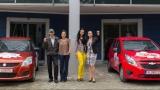 Cei doi câştigători la Vara pe val au plecat acasă cu noile autoturisme