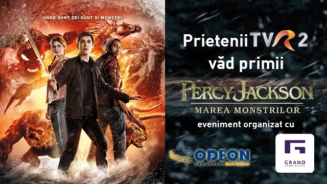 Prietenii TVR2 vad primii Percy Jackson