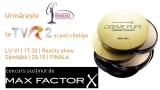 Urmăreşte Miss Universe România 2013 la TVR2 şi câştigă premii de la Max Factor