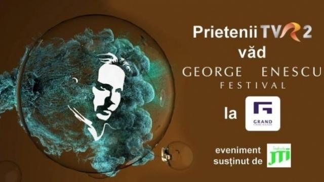 Prietenii TVR2 vad Festivalul George Enescu la cinema