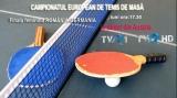 Finala feminină pe echipe a Campionatului European de tenis de masă, în direct la TVR
