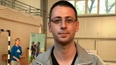 Radu Tudor, profesor voluntar de educaţie fizică