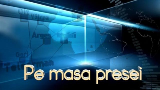 Pe masa presei - TVR CRaiova