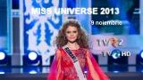 Finala Miss Universe 2013, sâmbătă, în direct la TVR HD şi online pe TVR+