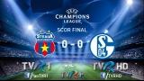 TVR 1 - lider de audienţă cu Steaua – Schalke 04