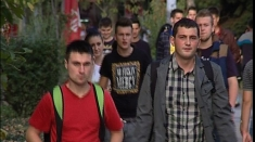 Studenții din Timișoara la