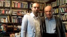 Dinu C. Giurescu și Lucian Dindirica la
