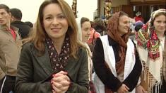 Raluca Belciu, voluntar pentru credincioşi