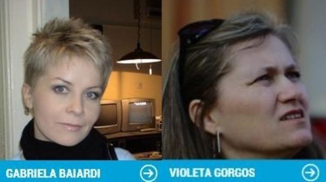 Violeta Gorgos şi Gabriela Baiardi