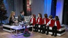 """""""Împreună lângă brad"""" - din studioul TVR Iaşi"""