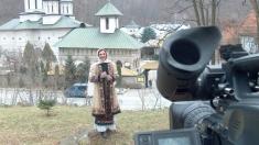 Caravana TVR3 la mănăstirea Lainici