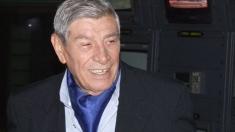 Actorul Mitică Popescu, felicitat de Mugur Isărescu