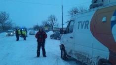 """Caravana """"Știrile tale sunt la TVR"""", în județele afectate de viscol din Moldova"""