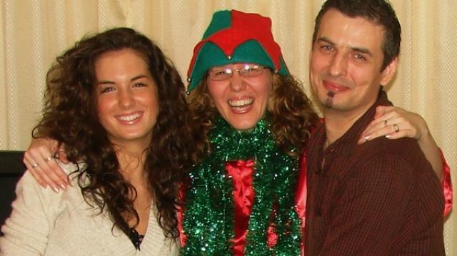 Ioana German, Crăciun în familie