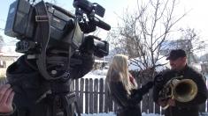 """Caravana """"Știrile tale sunt la TVR"""" la Zece Prăjini"""