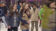 TVR Iași sparge gheața la concursuri pe patinoar!