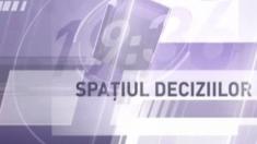 """Cele mai actuale teme politice şi sociale în dezbatere, azi, de la ora 22,30, la TVR 3, în emisiunea """"Spaţiul deciziilor"""""""