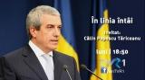Călin Popescu Tăriceanu, în linia întâi, la TVR 1 şi TVR+