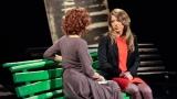Scriitoarea Ioana Nicolaie, la Nocturne de la TVR 1