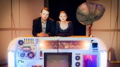 Actorii Andrea Gavriliu şi Ştefan Lupu, la Nocturne de la TVR 1