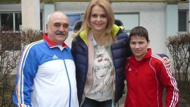 Steluţa Duţă şi Constantin Voicilaş