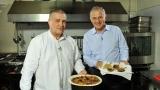 Cu Mircea Geoană în bucătărie, la Politică şi delicateţuri
