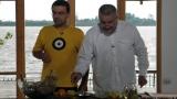 """Dinescu şi Mărgineanu, muzică şi bucătărie """"sălbatică"""" la Cetate"""