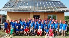La 15 ani de activitate, Habitat pentru Umanitate Cluj construieşte 15 case