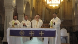 """Românii catolici din Ierusalim şi pastorul lor, miercuri la """"Lumea şi noi"""""""