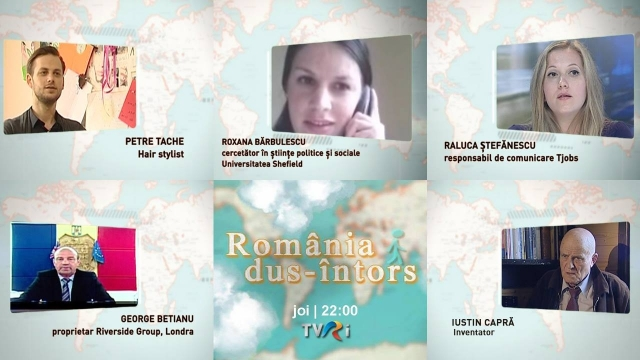 România dus-întors, joi 5 iunie