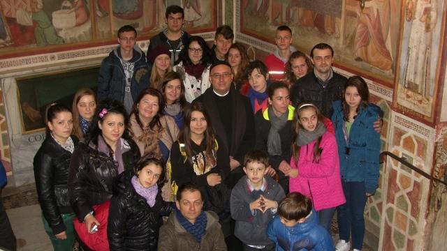 Preotul Bogdan Petre în Fonte Nuova