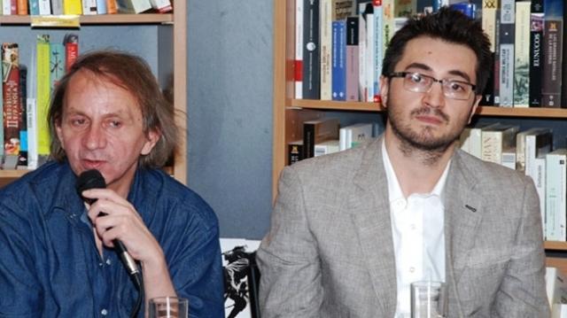Fabianni Belemuski și Michel Houellebecq