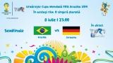 CM FIFA Brazilia 2014 în direct la TVR – Semifinala I, 8 iulie