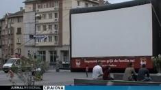 Cinema în aer liber la Craiova