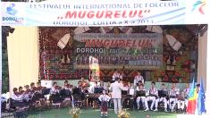 """Sărbătoare la zi mare: Festivalul Internaţional de Folclor """"Mugurelul"""""""